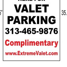 Valet sign options