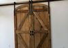Arched Reclaimed Barn Wood Doors
