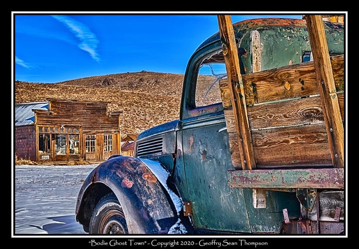 Old Dodge, Bodie Ghost Town State Park, Bridgeport, CA.