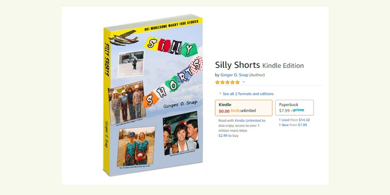 Silly Shorts - funny real stories, 100% true and 80%$ wholesome!