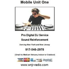 Pro digital DJ service is available. We specialize in Nostalgia. Lights & Sound.