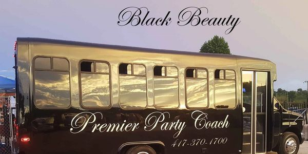 Black Beauty is a great Party Coach/Bus to transport your group.