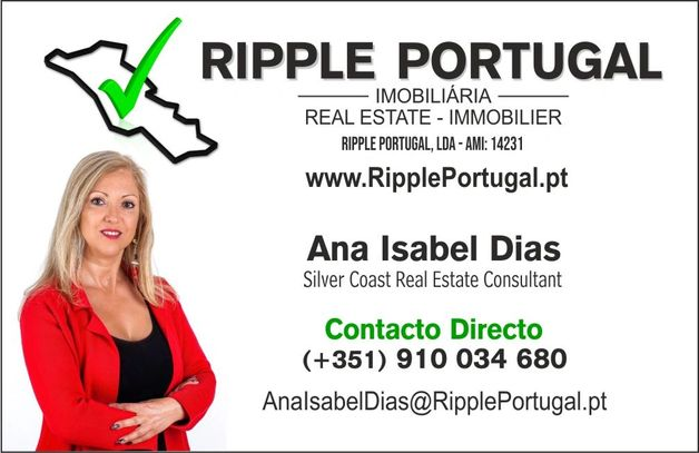 Ana Isabel Dias - Silver Coast Real Estate Consultant