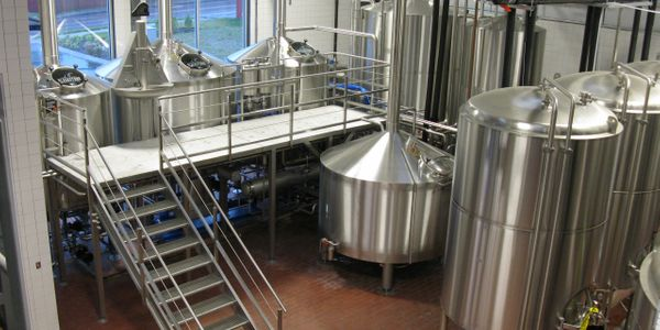 Our 30 barrel brewhouse was custom manufactured by ROLEC Prozess- und Brautechnik GmbH in Chieming,
