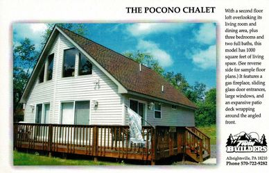 Pocono Poconos Mountains Chalet Custom Home Homes Builder Builders Twin Twins Construction New House