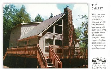 Chalet Twin Twins Builder Builders New Home Homes Construction Deck Fireplace Custom Poconos