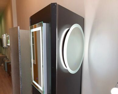 LED Mirrors by Krugg Reflections