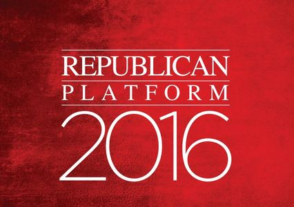 Republican Platform 2016 cover