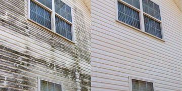 house wash exterior cleaning pressure washing