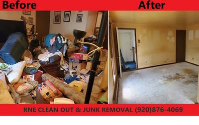 Property clean outs in Wisconsin