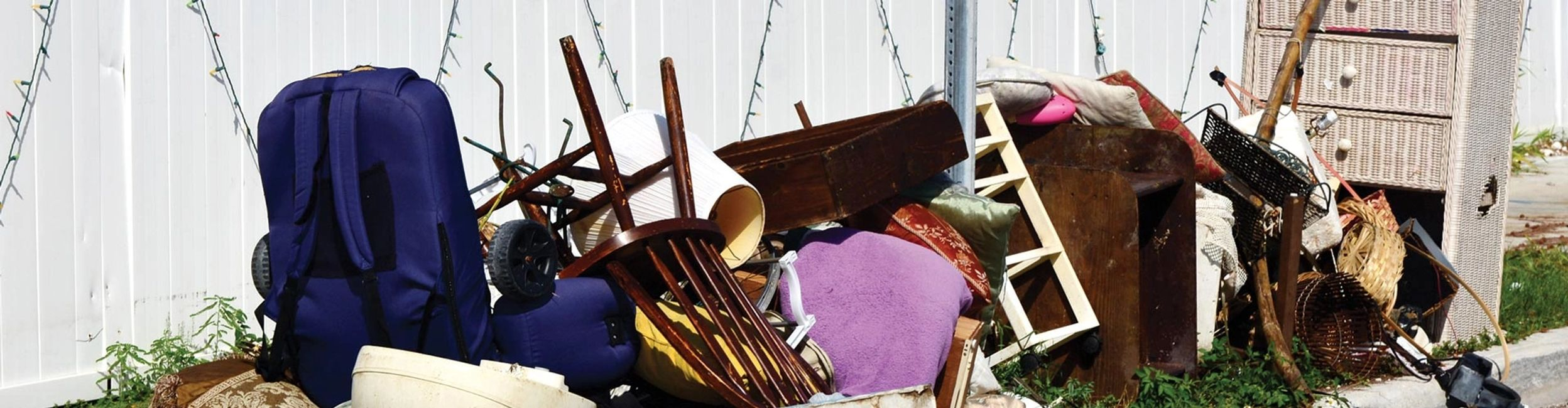 RNE Cleanout & Junk Removal offers full-service junk removal and curbside pick up.