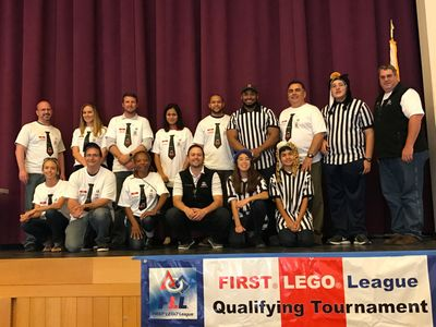 first lego league qualifying tournament