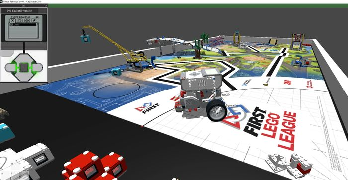 Virtual Robotics fro FIRST LEGO League