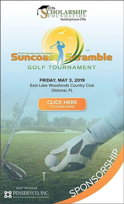 Suncoast Scramble 2019 flyer linked to registration site