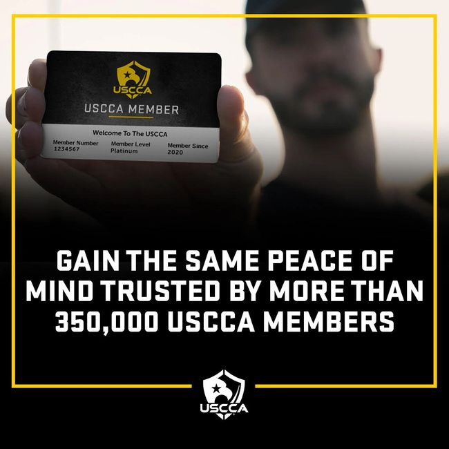 If you want legal and financial protection after a self defense scenario, the USCCA is for you!