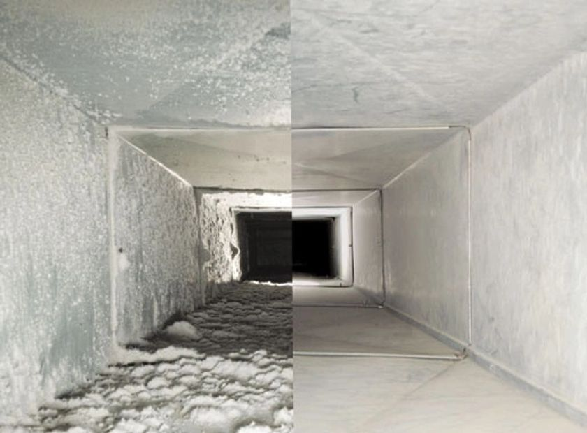 Duct Cleaning and Duct work sanitizing