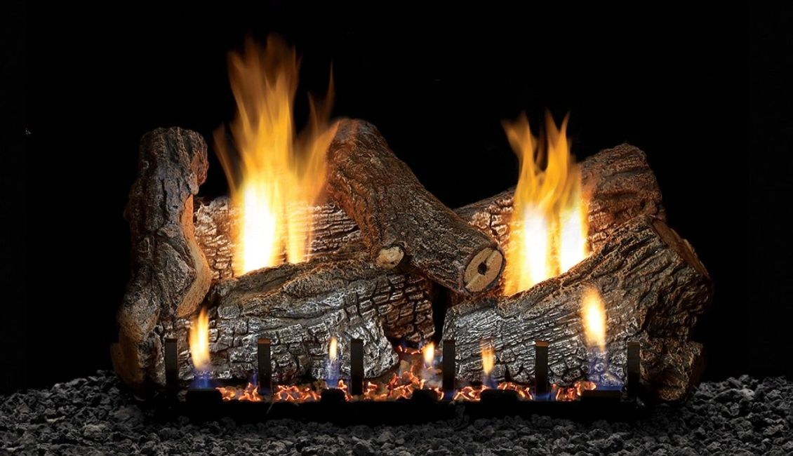 Gas Fireplace Vented Gas Logs