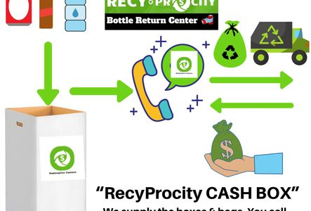Turn bottles and cans into cash