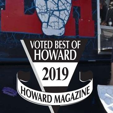 Voted Howard County's Best Food Truck 2019. Click below to read all about it.