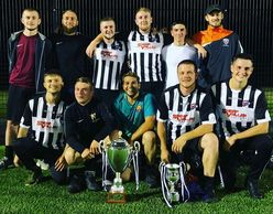 Kickabout Sheffield 7-a-Side Football League and Cup, Double Winners, 2019