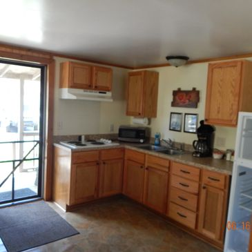 Picture of small cabin Kitchen