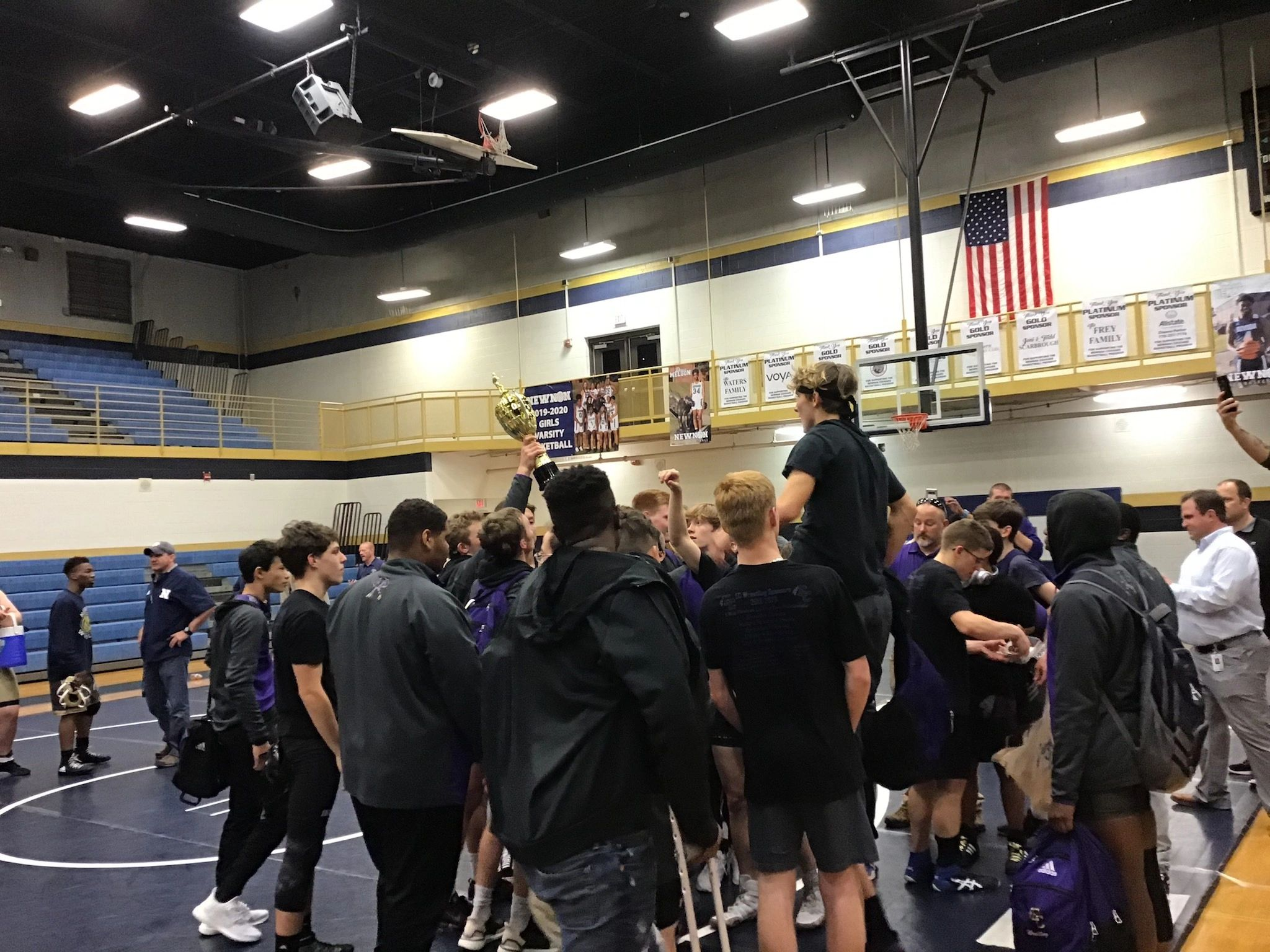 East Coweta wins the REGION DUALS TITLE!!