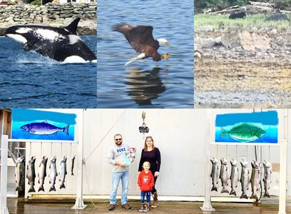 Amazing family vacation with Reel alaska fishing charters ketchikan alaska