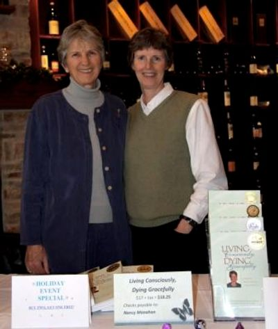 Nancy Manahan and Becky Bohan