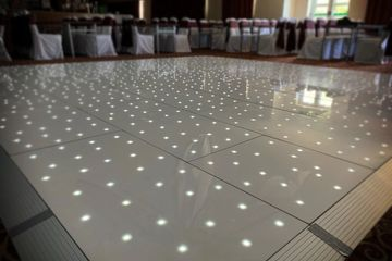 White LED Dancefloor fife