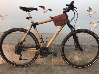 Bamboo bicycle Made in India