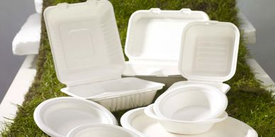 Compostable tableware Biorgani