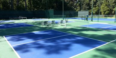 Pickleball, we have designed and implemented programs and facilities