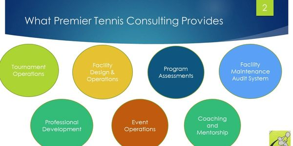 What Premier Tennis Consulting Provides