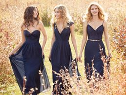 Hayley Paige Occasions bridesmaids dresses feature stylish dresses .