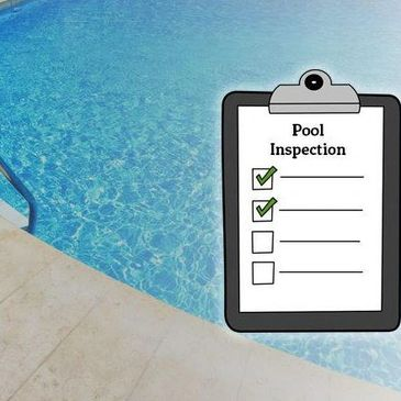 Written report of your pool inspection
