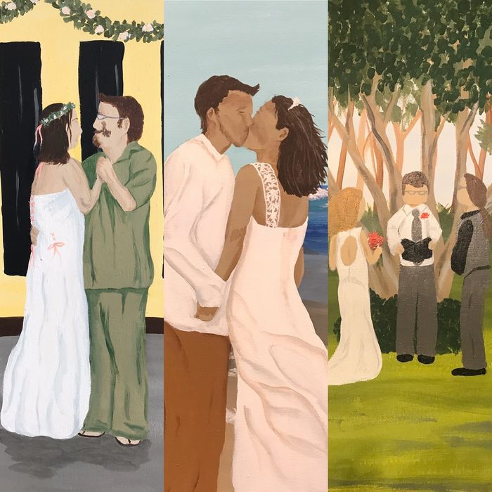 Live wedding painting, event painting, bride, groom, reception, bridal, marriage, love