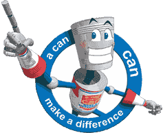 A Can-Can Make A Difference Logo