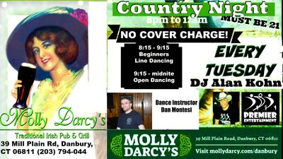 Country Night Line Dancing at Molly's
