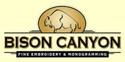Bison Canyon Embroidery
