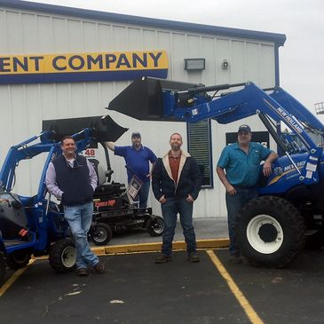 Come see John, Keith, Todd and Jason for all your New Holland, Woods, and Dixie Chopper Needs
