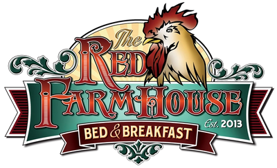 The Red Farmhouse is a hidden treasure on 5 acres minutes from shopping, restaurants and more.