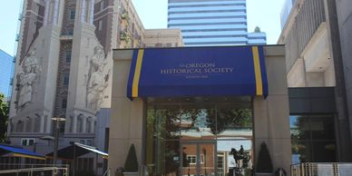 Visitor information about the Oregon Historical Society in Portland Oregon