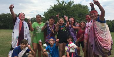 Summer camp - everyone loves Camp Olympics!