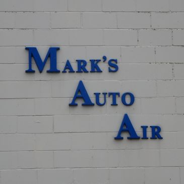 Mark's Auto Air Early Sign