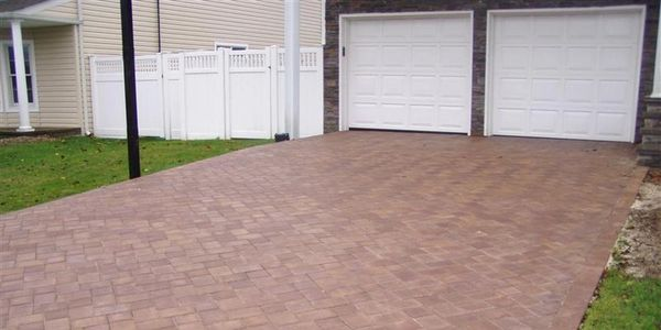 Suffolk County masonry paver brick driveway Long island masonry  cambridge paver installer