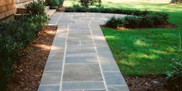 Long Island Suffolk county masonry bluestone walkway east Hampton contractor licensed since 1988