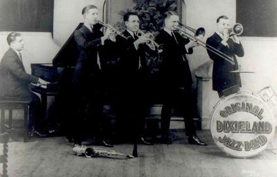 Original Dixieland Jazz Band in 1922