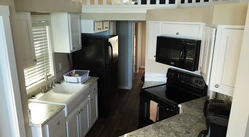 park home kitchens