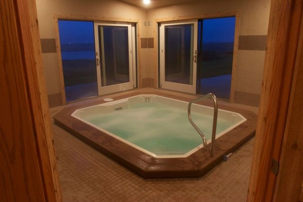 Hot Tub, Sauna, Exercise Room and Masage Room at The Signature Lodge by Cheyenne Ridge Outfitters