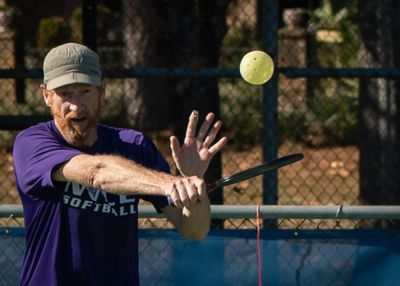 Pickleball lessons on the court